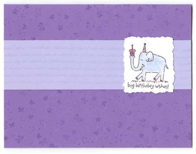 Big Birthday Greetings Card